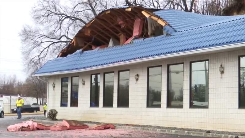 Roanoke car wash condemned after landslide destroys most of it