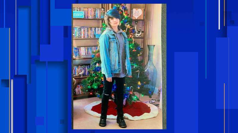 Authorities are searching for Sage Blair, 14, last seen at her home Wednesday night