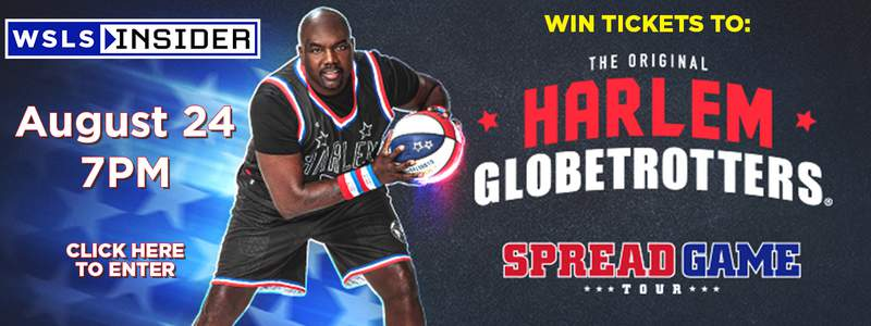 Enter to win one of five family packs to see the Harlem Globetrotters