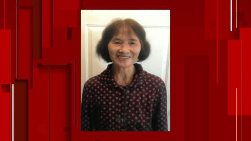 Senior alert issued for 76-year-old Shu-Jin Wu.