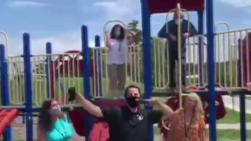 Teachers, staff make rap video to get kids to wear masks