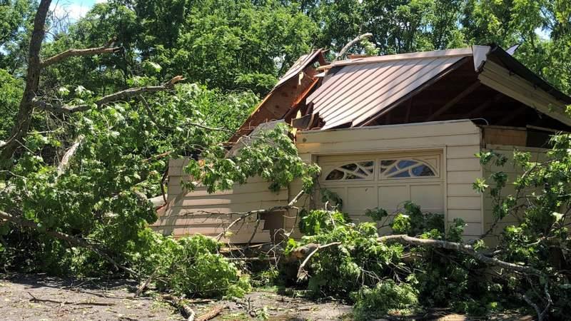 Weekend storms cause damage in Rockbridge County