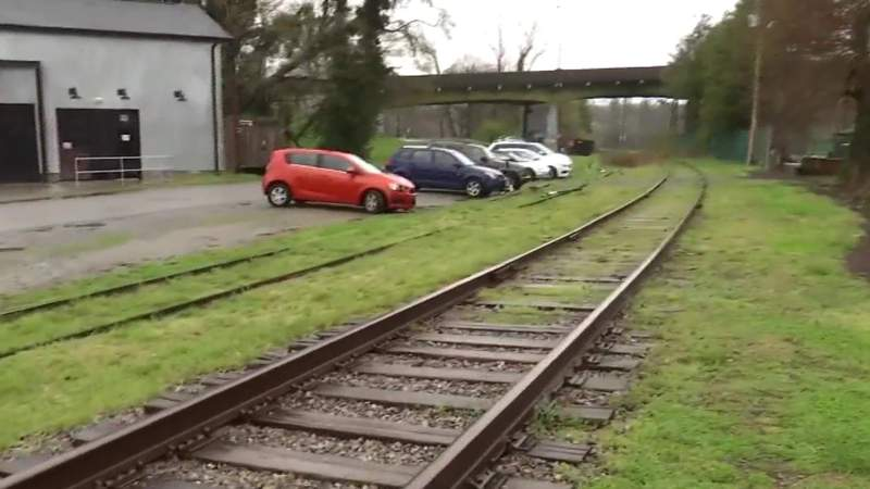 Clean-up project to restore rails in Roanoke