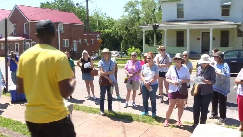 Tour of historic Gainsboro neighborhood
